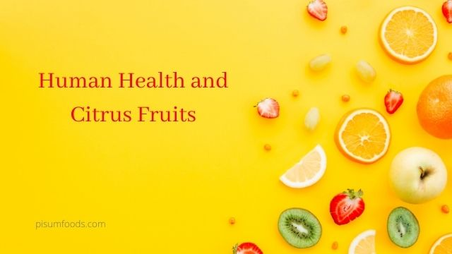 Human Health and Citrus Fruits